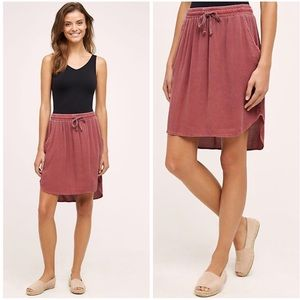 Anthropologie Saturday Sunday girlfriend day skirt